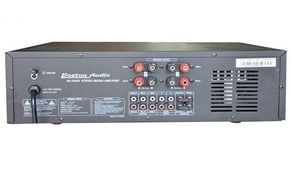 Amply Boston Audio PA-1100 N kết nối với các thiết bị khác dễ dàng
