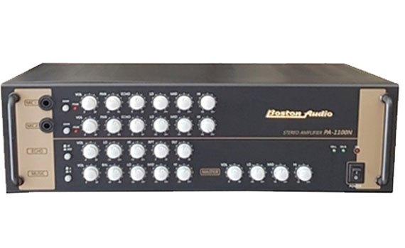 Amply Boston Audio PA-1100 N có nút chỉnh âm thanh tiện lợi