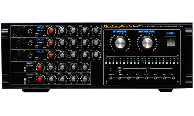 Amply Boston Audio PA-6200 II