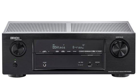 Amply Denon AVR-X2200WBKE2 nghe và cảm nhận từng hành động