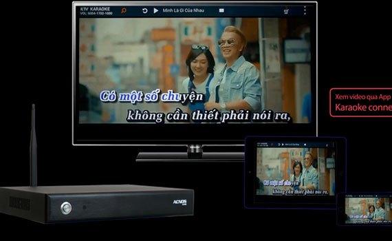 Đầu mini Karaoke wifi Acnos KM6 (2TB) cập nhập bài hát nhanh chóng