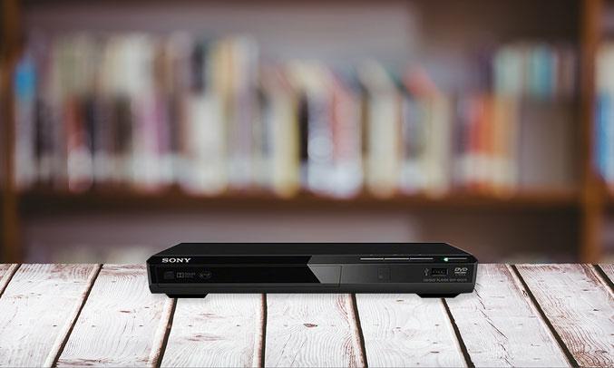 Đầu đĩa DVD SonyDVP-SR370/BC SP6 nhỏ gọn