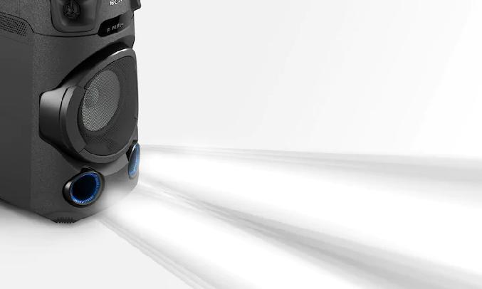 Dàn âm thanh Hifi Sony MHC-V13 M SP6 - Bộ tăng âm Bass mạnh mẽ