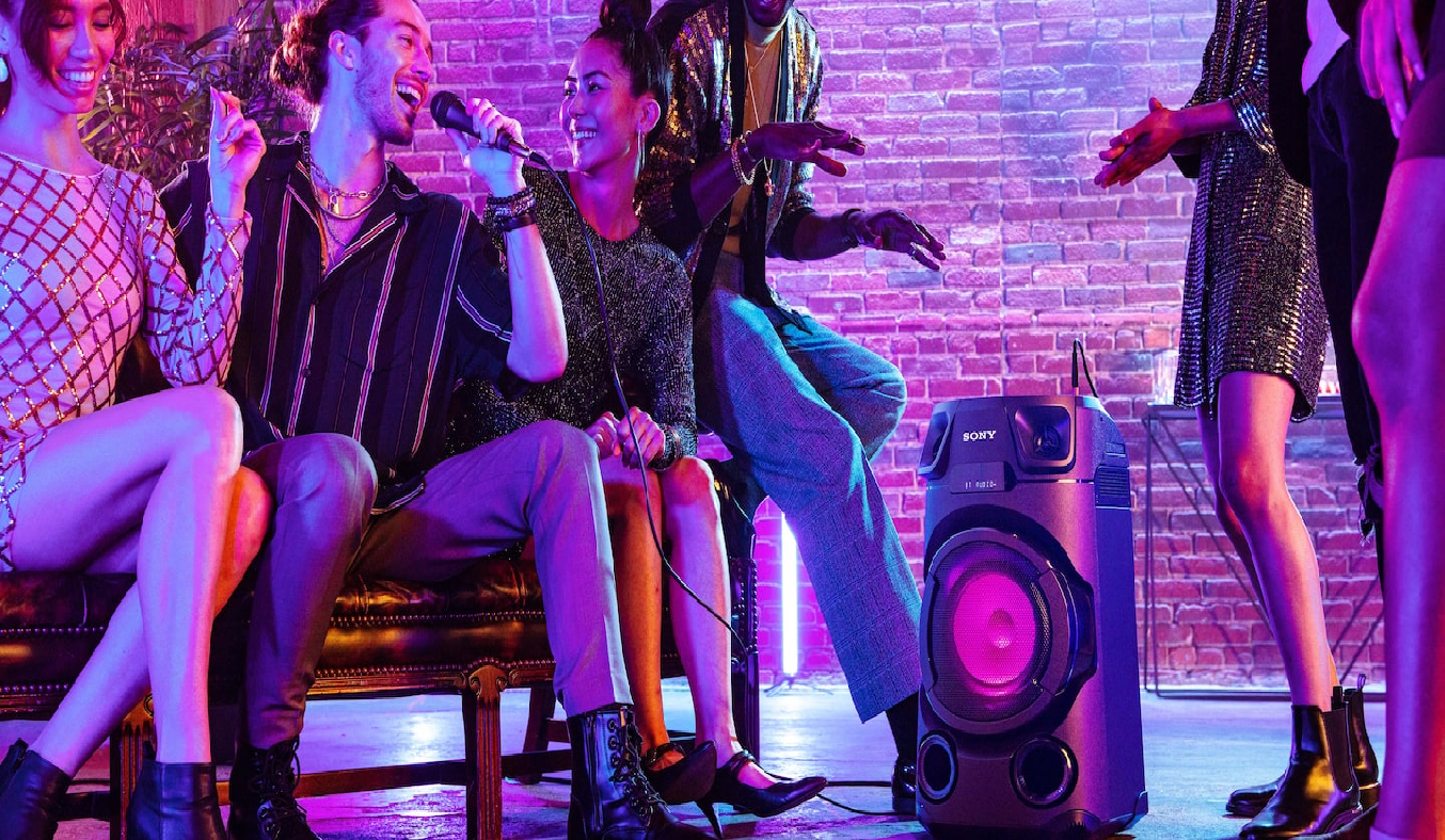 Dàn âm thanh Hifi Sony MHC-V13 M SP6 - Thể hiện giọng ca ngôi sao của bạn