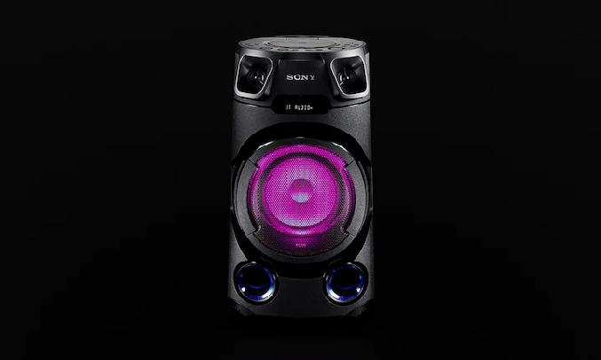 Dàn âm thanh Hifi Sony MHC-V13 M SP6 - Bùng nổ không gian sôi động với đèn loa