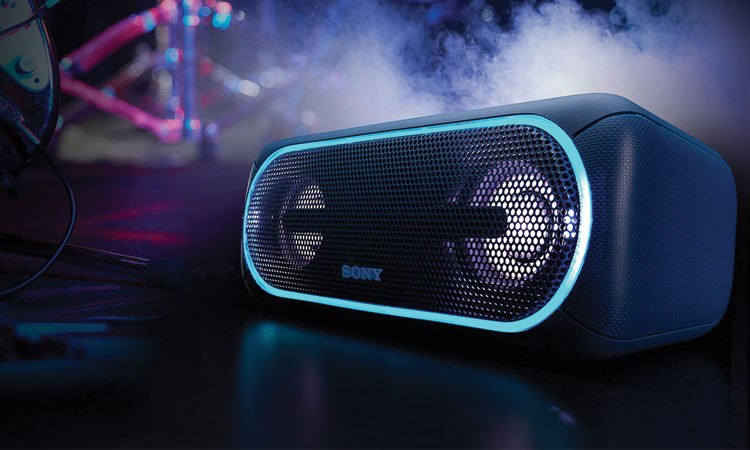 Loa không dây Sony SRS-XB40 có hệ thống âm thanh sống động
