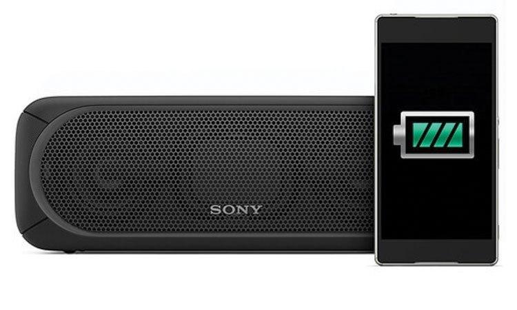 Loa không dây Sony SRS-XB40 có dung lượng pin lớn