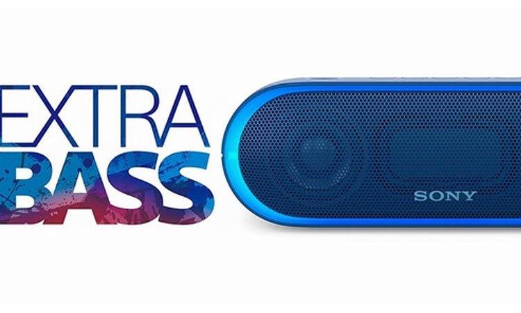 Khấy động không khí cùng với công nghệ Extra Bass của Loa không dây Sony SRS-XB40