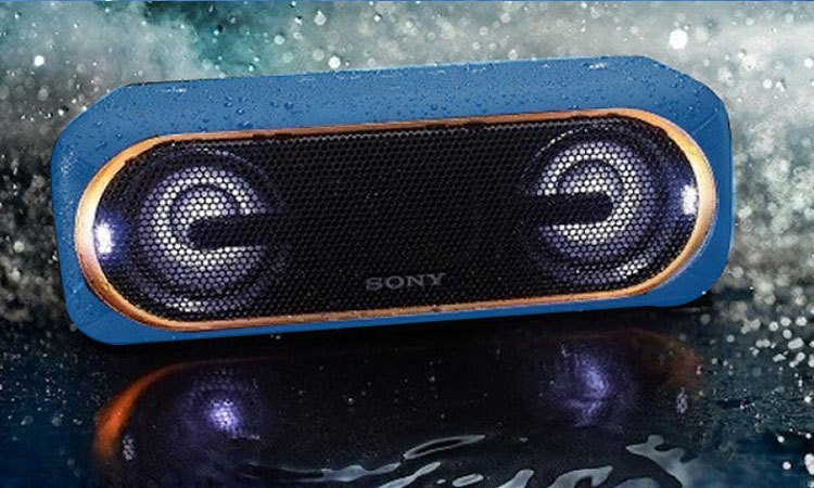 Loa không dây Sony SRS-XB40 có khả năng chống thấm nước cao