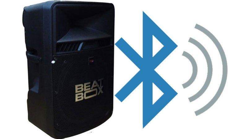 Loa kéo di động ngoài trời 18'' Acnos KB50U có kết nối Bluetooth tiện dụng