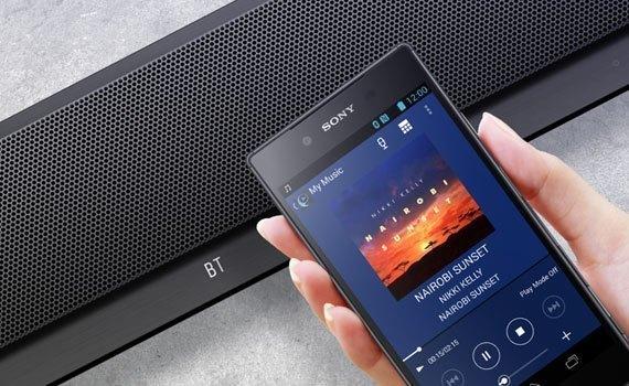 Dàn máy Sony HT-CT390 thiết kế sang trọng và thanh lịch