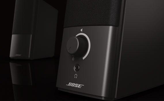 Loa Bose Companion 2 III sử dụng dễ dàng