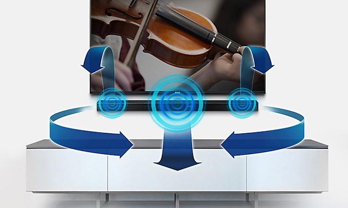 Loa Samsung HW-M550/XV âm thanh đa hướng