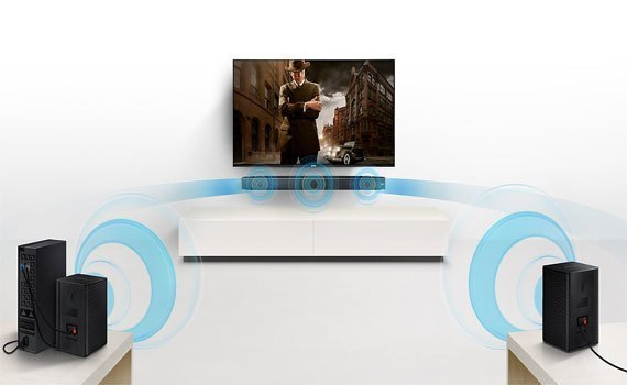 Thưởng thức âm thanh đỉnh cao cùng với loa thanh Samsung HW-MS650/XV