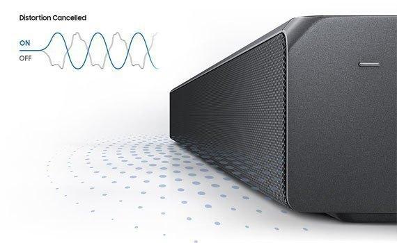 Loa thanh Samsung HW-MS650/XV có âm trầm đầy ấn tượng
