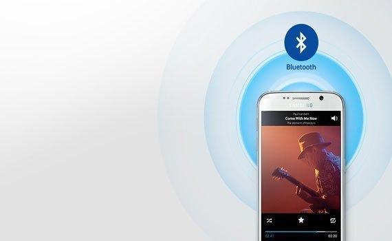Loa thanh Samsung HW-K350 kết nối không dây nhanh chóng