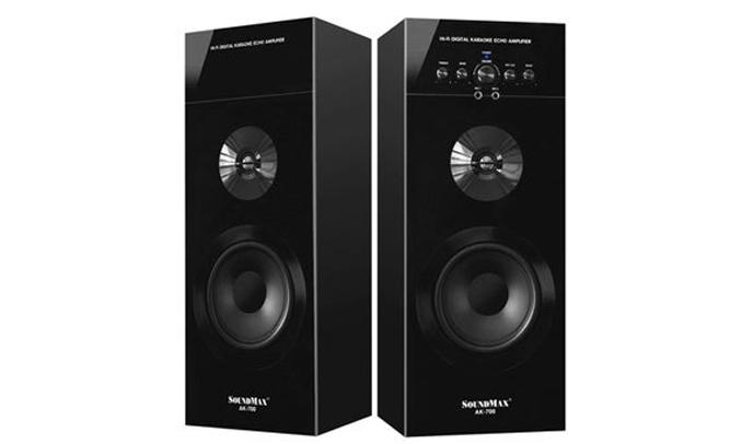 Loa vi tính Soundmax AK700-2.0 công suất 100W