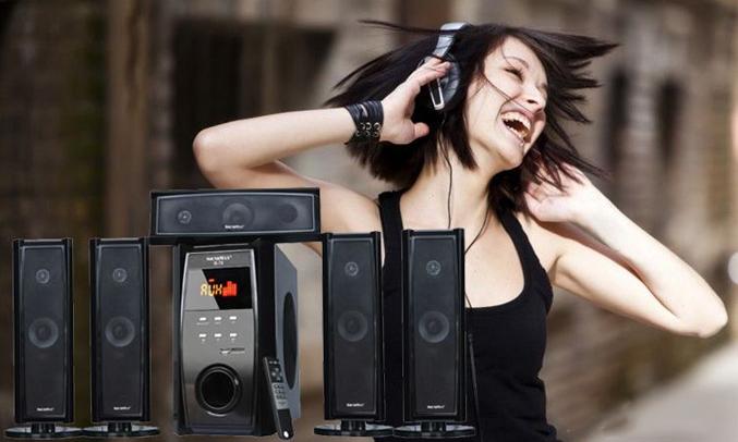 Loa vi tính Soundmax B70/5.1 âm bass trầm ấm, sống động