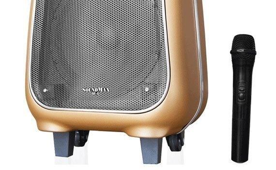 Loa vi tính Soundmax M-6 có mic không dây