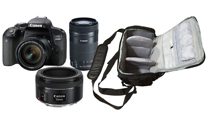 Máy ảnh Canon EOS 800D Kit 18-55 cực nét