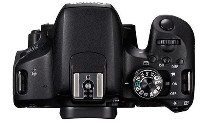 Máy ảnh Canon EOS 800D Kit 18-55 màn hình LCD tiện dụng