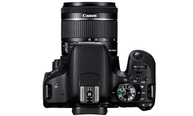 Máy ảnh Canon EOS 800D Kit 18-55 chi tiết sống động hơn