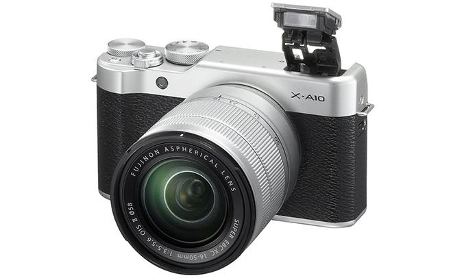 Máy ảnhFujifilm X-A10/XC16-50MM quay phim HD
