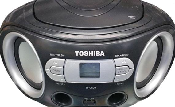 Cát sét Toshiba TY-CRU8 có công suất lớn