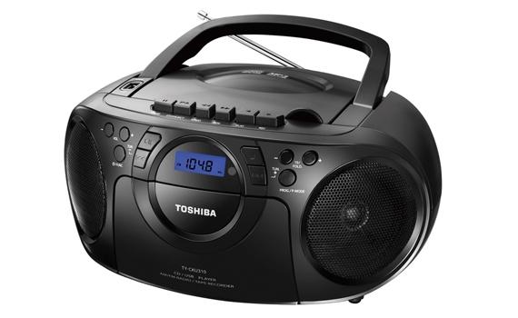 Máy cassette Toshiba TY-CKU310 thiết bị giải trí cho gia đình bạn