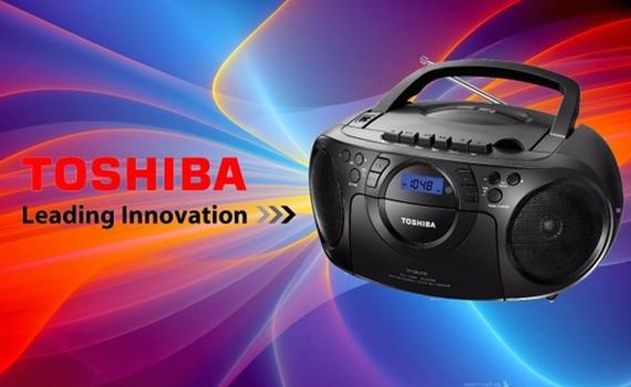 Máy cassette Toshiba TY-CKU310 thiết kế mạnh mẽ, công nghệ hiện đại
