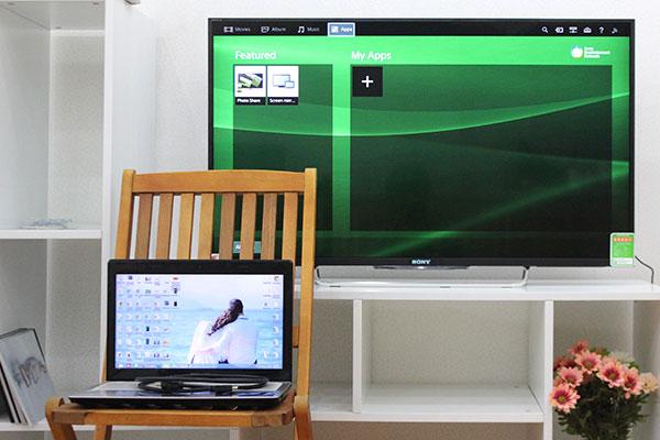 Kết nối tivi với laptop thông qua HDMI để tăng tính trải nghiệm