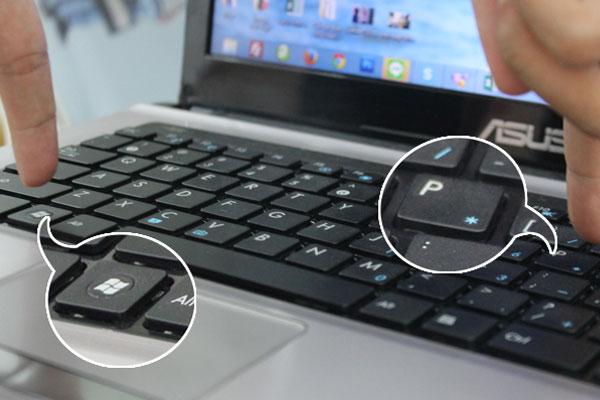 Lúc này tivi và laptop sẽ tự động kết nối với nhau.