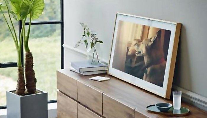 Đây là một chiếc tivi kiêm luôn khung tranh, ảnh nghệ thuật