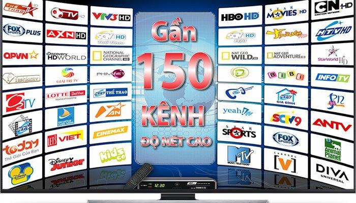Tivi HD có nhiều kênh truyền hình cho bạn lựa chọn