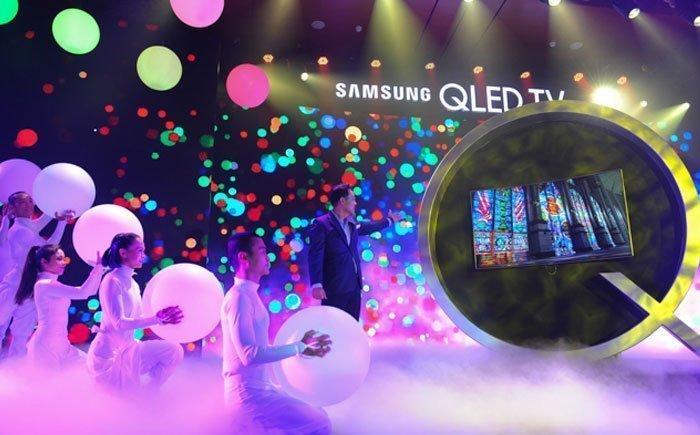 Tivi QLED thể hiện chính xác 100% dải màu sắc