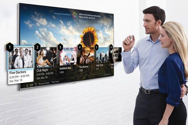 Smart tivi với kho ứng dụng thông minh cho phép người dùng thoải mái trải nghiệm