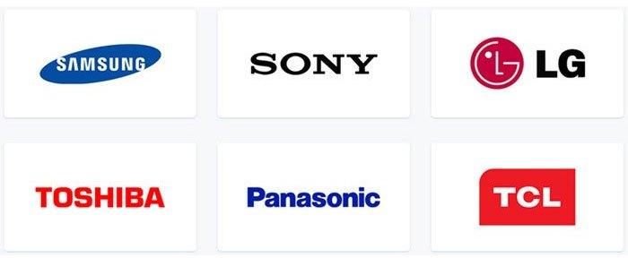 Chọn mua tivi của những thương hiệu uy tín