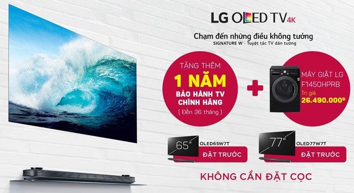 Đặt ngay tivi OLED LG để nhận ngay những phần quà giá trị tại Nguyễn Kim