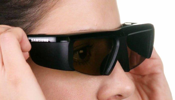 Kính của tivi 3D chủ động cho hình ảnh chân thật, sắc nét