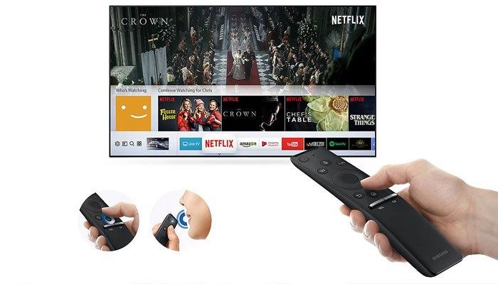 Điều khiển thông minh cho bạn những trải nghiệm thú vị khi sử dụng Smart tivi