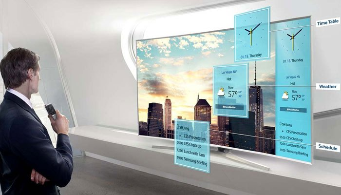 Smart tivi Samsung thông minh như chính cái tên