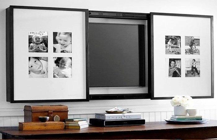 Hãy khiến tivi thành nội thất sang trọng nhà bạn