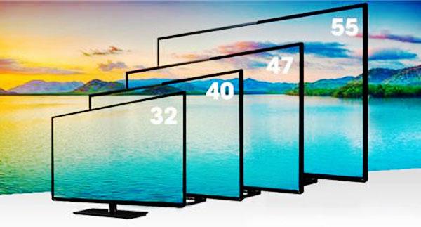 Bạn muốn lựa chọn tivi với kích thước và giá thành như thế nào đều có