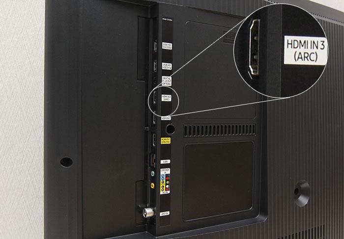 Một số dòng tivi hiện nay đã được trang bị cổng HDMI (ARC)