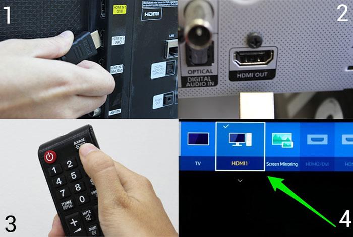 Các bước kết nối tivi với thiết bị âm thanh