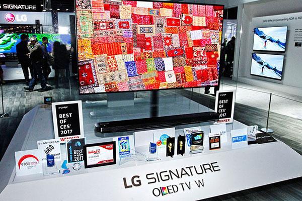 TV LG là một trong những mẫu TV mỏng nhất hiện nay