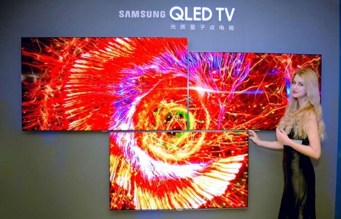 Tivi QLED cấu thành bởi các công nghệ Chấm lượng tử