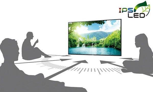 Dù xem ở góc nào chăng nữa, công nghệ IPS LED của tivi Panasonic vẫn truyền tải hình ảnh đến bạn một cách rõ nét