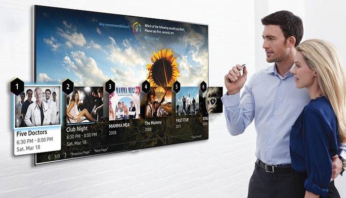 Tìm kiếm nhanh trên Smart tivi bằng giọng nói