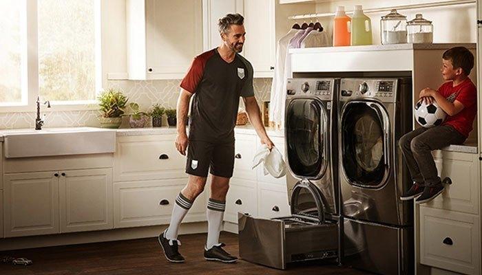 Máy giặt sấy mới của Samsung